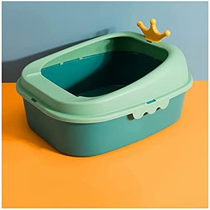 Limited Special Price WENMENG2021 Small Litter Box with Space lid Genuine Free Shipping Large Cat