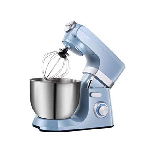 Yalztc-zyq16 Desktop egg beater electrical family creamy recent milk cap machine baking cake stirring hair dryer business excessive energy (Color : Blue)