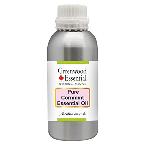 New Greenwood Essential Pure Cornmint Essential Oil (Mentha arvensis) Premium Therapeutic Grade for Hair, Skin & Aromatherapy 1250ml (42 oz)