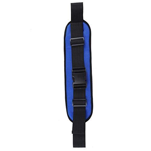 Cinturón de seguridad ajustable para silla de ruedas, correa de seguridad para silla de ruedas, correas de sujeción para sillas de ruedas, cinturón antideslizante para silla de ruedas(Azul)