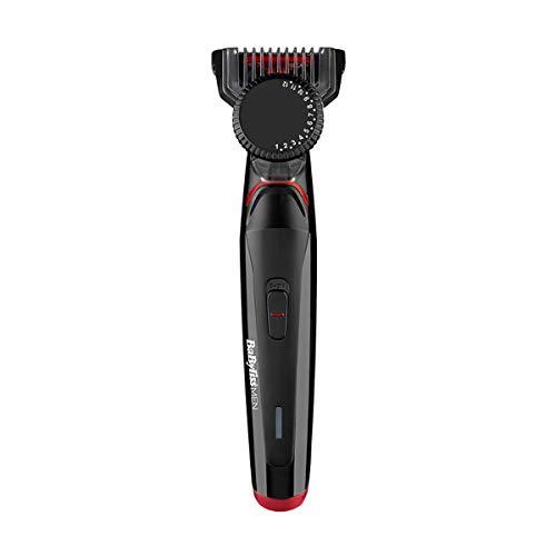 BaByliss T861E depiladora para la Barba Negro T861E, Lavable, Corriente alterna, Negro