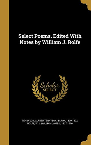 SELECT POEMS EDITED W/NOTES BY