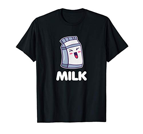 Disfraz de leche Ropa de Halloween Pareja a juego Camiseta