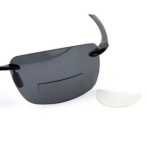 +350 Hi Clear Stick-On Bifocal Lenses Reader Magnifying Adhesive Reading Lens Sticker Sport Sunglass Safety Glasses Magnifier Add On (Clear, 350)