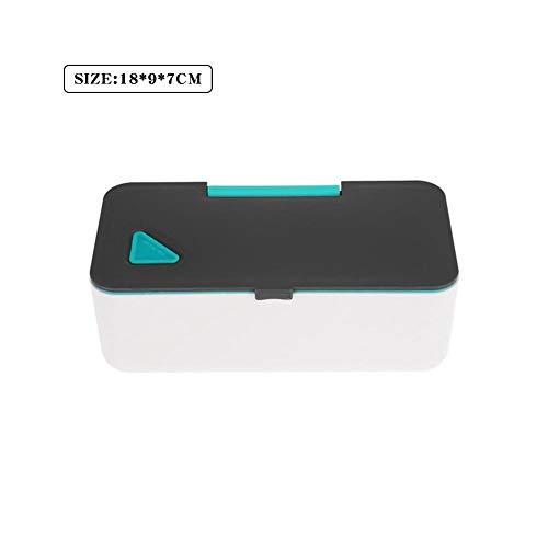 Pranzo Isolato con Dispositivo di Raffreddamento Termico,Scatola per Il Pranzo Lunch Box Lavabile Riutilizzabile Bento Box Isolato Lunchbox Isolato Thermos Jar Thermos Food Box