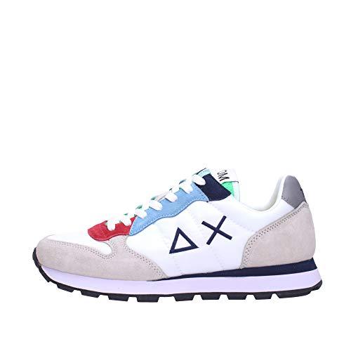 SUN 68 Sneakers Uomo Z31105 (Bianco, Numeric_42)