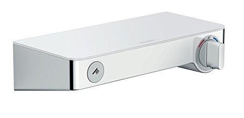 hansgrohe ShowerTablet Select 300 Aufputz Duschthermostat, für 1 Funktion, Weiß/Chrom