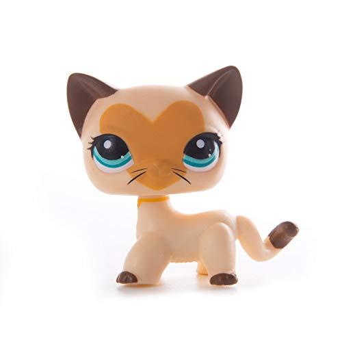 LPS CAT Rare Pet Shop Toys Stands pelo corto Gatito Perro Dachshund Collie Spaniel Gran Dane Old Colección Original Figura