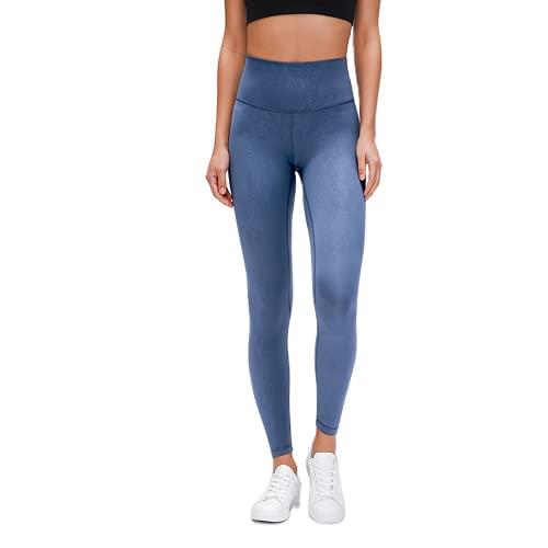 QTJY Pantalones de Yoga para Mujer de Cintura Alta Pantalones Deportivos Deportivos Pantalones de chándal de Entrenamiento para Celulitis y Flexiones de Cadera Delgados D M