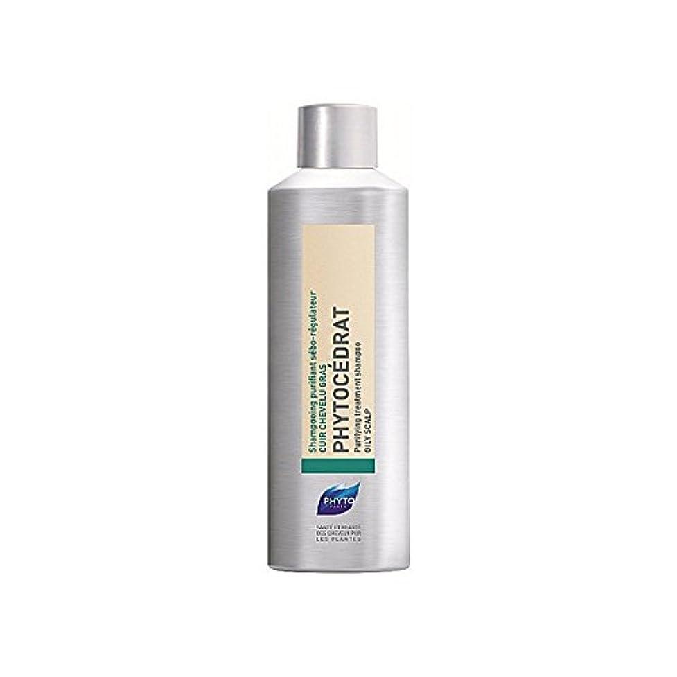誘惑するである虐殺Phyto Phytocedrat Shampoo 200ml (Pack of 6) - フィトシャンプー200ミリリットル x6 [並行輸入品]