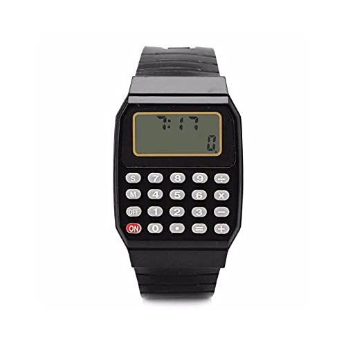 Calcolatrice da Tavolo Calcolatrice, calcolatrice per ufficio a 8 cifre, calcolatore di cancelleria boutique personalizzato Mini colore della caramella Standard Calcolatrice ( Color : E )