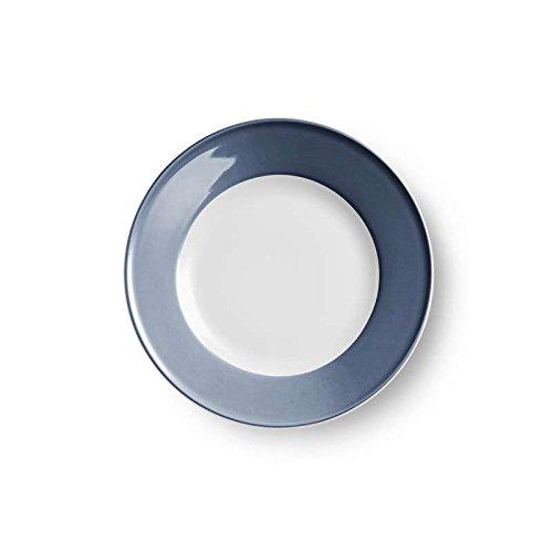 Dibbern Solid Color Teller flach 21 cm indigo