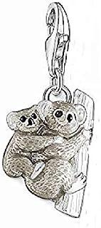 Noirci Thomas Sabo Femme Pendentif Charm Argent Sterling 925 /émail /à Froid 1837-845-7
