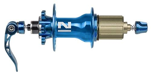 Novatec 4 in 1-DISC-Superlight Mtb-d792sb/a-aa-115-hr 32-eloxiert, Blau, One Size