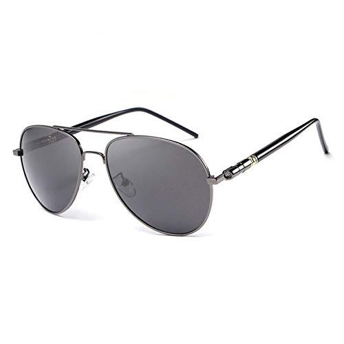 Glqwe Occhiali da Sole Classici, Protezione UV Occhiali da Sole polarizzati Micropiastre Classici Pellicola di colorazione Occhiali da Sole (Color : C)