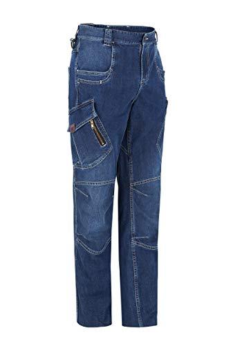 MONZA OBREROL Pantalón De Trabajo Largo Vaquero Multibolsillos de Hombre Profesional/Comercial. Talla 46. Ref: 1804