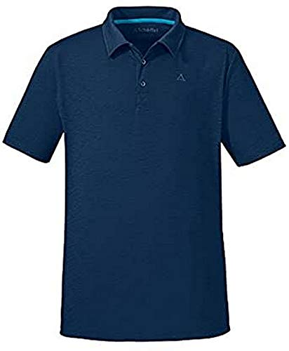Schöffel Herren Poloshirt Izmir Shirt, Dress Blues, S