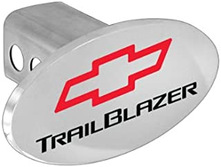 Chevrolet Chevy Trailblazer Metal Trailer Hitch Cover Plug With Red Bowtie