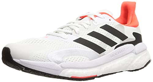 adidas Boost 3 M, Zapatillas para Correr Hombre, FTWR White Core Black Solar Red, 42 2/3 EU