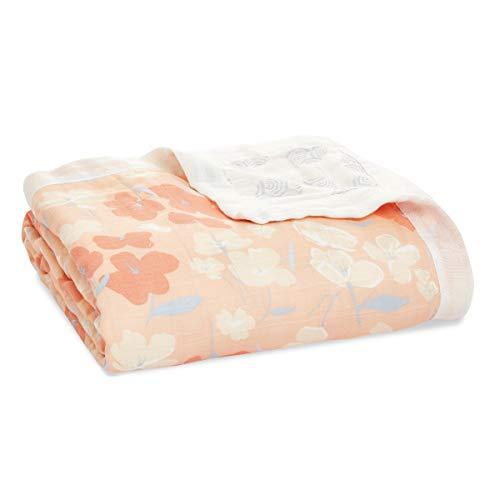 aden + anais silky soft Dream Blanket, 120x120cm, Ideal Newborn Nursery &...