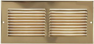 14' X 8' Brass Cold Air Return Vent Cover / Grille