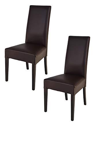 Tommychairs - Set 2 sillas Luisa para Cocina, Comedor, Bar y