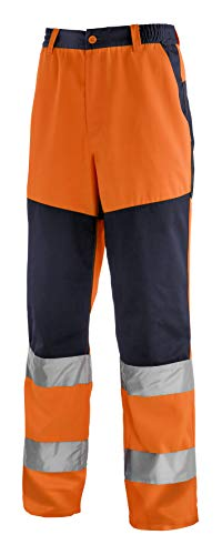 teXXor 4355-62 Wanschutz-Bundhose Rochester, Warnorange/marineblau, Größe 62