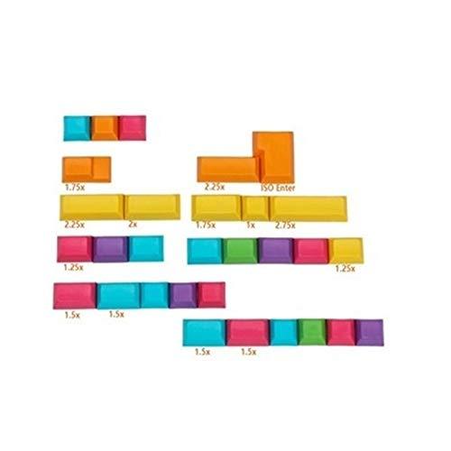 Teclado 30 Claves/Paquete Sublimación Pbt DSA Perfil Clave Teclado Cap mecánico CMYK n/Tapas Superiores Impreso Clave con Libre Clave Cap Extractor (Color : Top Printed)