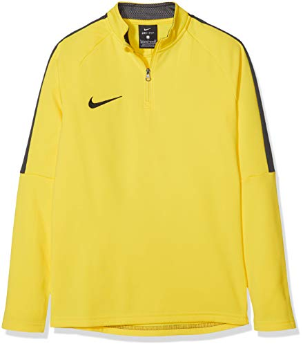 NIKE Y NK Dry Acdmy18 Dril Top LS Camiseta de Manga Larga, Niños, Amarillo (Yellow/Anthracite/(Black), XS