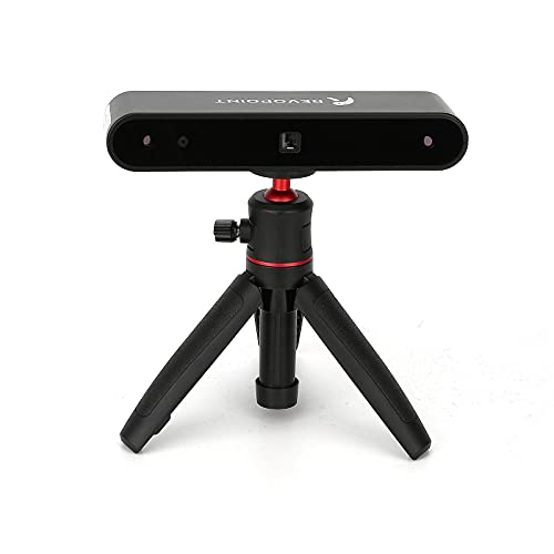 Revopoint POP 3D Scanner Precisione 0,3mm velocità 8fps Modalità di scansione automatica o fissa Possibilità di scansionare viso e corpo adatto anche per stampa 3D a colori