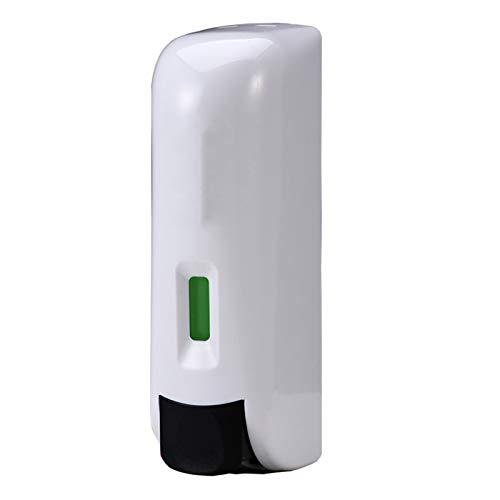 WXZX Pared Dispensador Gel Pared Cabeza Única, Blanco Manual Botellas De Bomba De Plástico Vacías, Plástico ABS Dispositivo, Esencial para El Almacenamiento De La Cocina Y El Baño