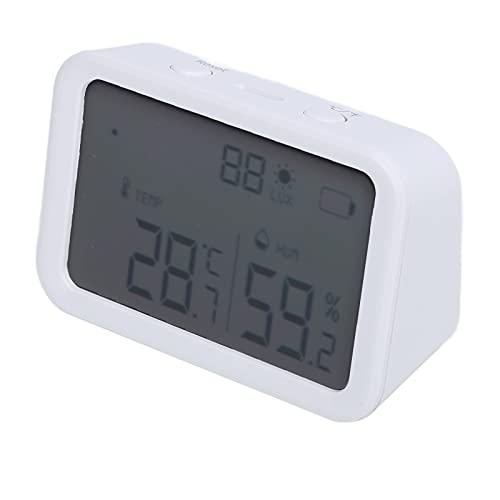 Sensore di temperatura, monitor di umidità della temperatura con ampio display LCD per l'ufficio per la casa