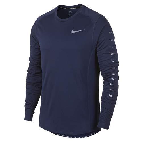 Nike Herren M NK Flash MLR TOP LS SNL GX Langarm-laufoberteil, Binarisches Blau, 2XL