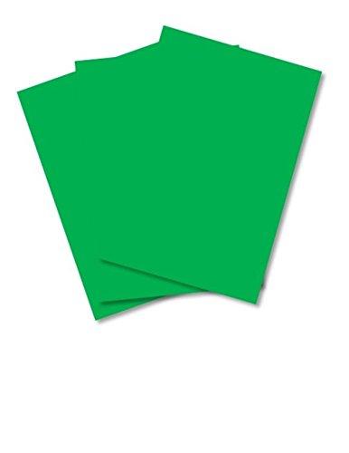 Cartulina de color verde (A4, 160 g/m², 100 hojas)