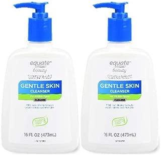 Equate Beauty Gentle Skin Cleanser, 16 fl oz (Pack of 2)