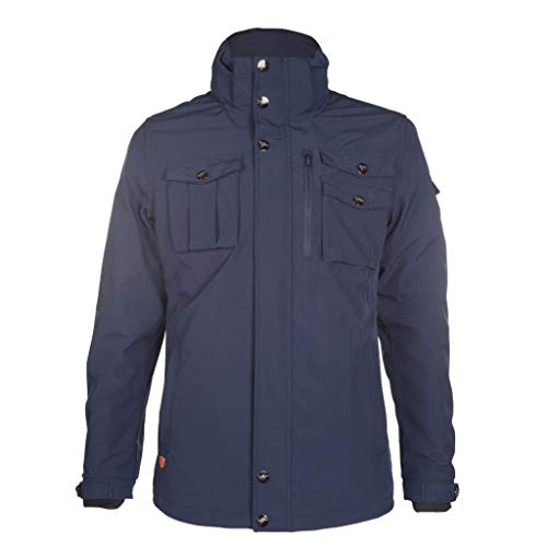 Kingston Mixte Jacket-87286 Jacket, Dark Blue, Large
