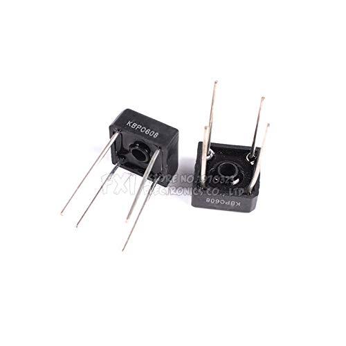 10PCS KBPC608 KBPC-608 6A 800V Single Phases Diode New Original