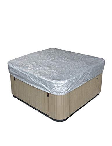 CFFEFN Cubierta Cuadrada para bañera de hidromasaje Piscinas para SPA Al Aire Libre Bañera De Hidromasaje Resistente a los Rayos UV Jardín Cubierta