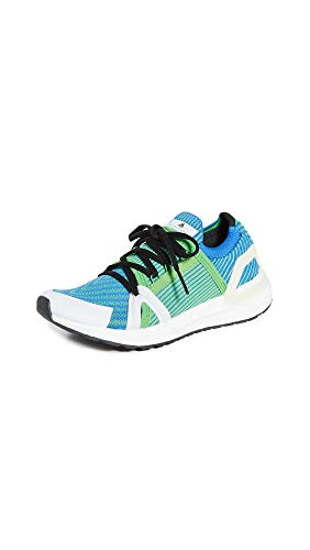 adidas by Stella McCartney Women's Ultraboost 20 S. Sneakers, Intense Green/Bright Royal/Fre, 5.5 Medium US