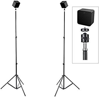 Skywin VR Tripod Stand Compatible with SteamVR Base Station 2.0 - Sensor Stand and Base Station for Sensors and Oculus Rift Constellation  2-Pack