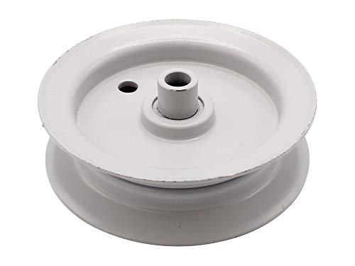 SECURA Spannrolle Fahrwerk 100mm kompatibel mit White 11/81 133B352D672 Rasentraktor