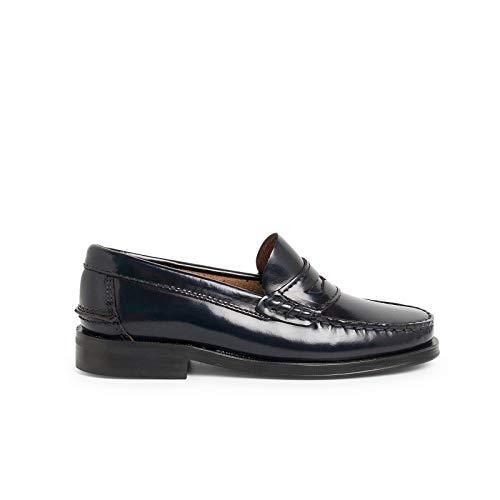 Zapatos Castellanos Mocasines de Piel para NiñoPisamonas