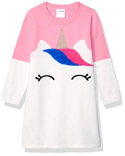 Marca Amazon - Spotted Zebra Sweater Dresses Niñas