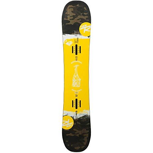 Rossignol Exp7 - Tabla de snowboard para hombre, talla 158, color amarillo