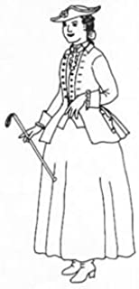 1740-1780 Riding Habit Pattern (Large, Sizes 16-18)