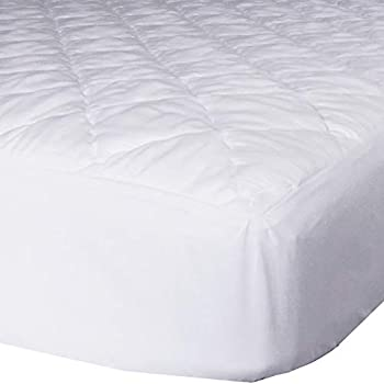 AB Lifestyles RV Short Queen 60x75 Quilted Mattress Pad Cover Fitted Sheet Style for RV Camper Made in The USA