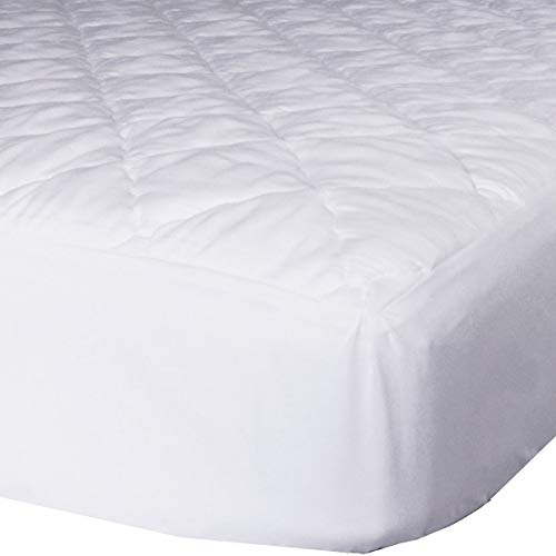AB Lifestyles RV Short Queen 60x75 Quilted Mattress Pad Cover. Fitted Sheet Style. for RV, Camper. Made in The USA