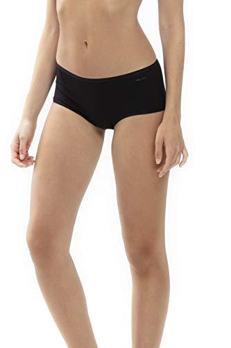 Mey Basics Serie Organic Damen Panties Schwarz S