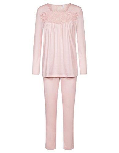 Rosch 1183596-12255 Women's New Romance English Rose Pink Pajama Pyjama Set 38