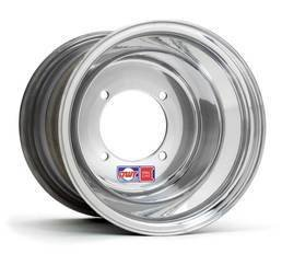 DWT Rood Label 10x12 6+6 4/110 Aluminium Quad Wheel